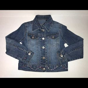 Girls Arizona Jean Co. Denim Jacket